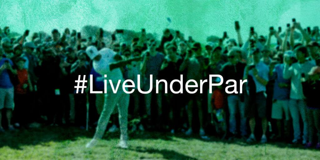 live under par